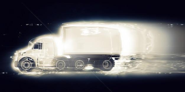Caminhão rápido