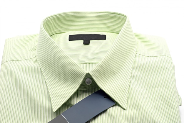 Camisa de negócios verdes