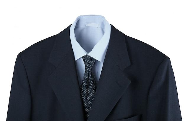 Camisa masculina gravata e jaqueta
