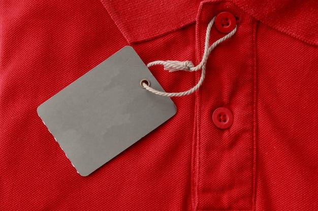 Camisa polo vermelha