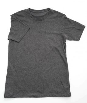 Camisa. t-shirt dobrada em branco