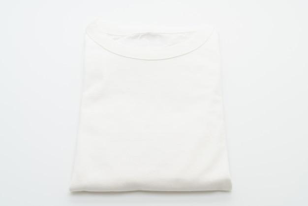Camiseta dobrada branca