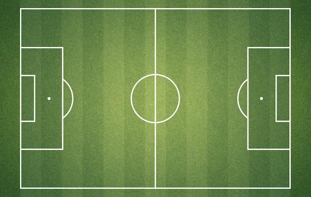 Campo de futebol de cima