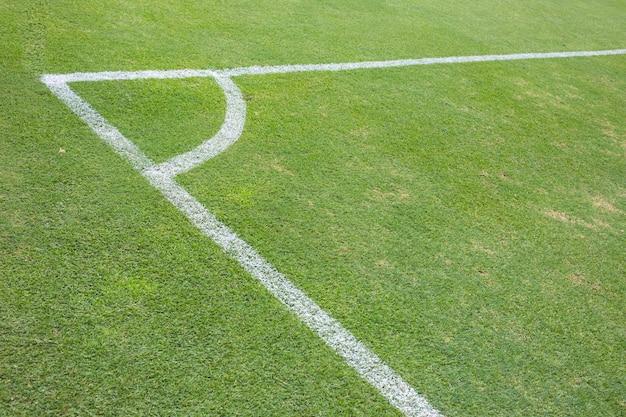 Campo de grama conner, futebol ou futebol