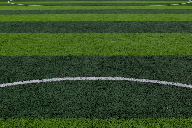Campo de grama verde, campo de futebol, fundo de campo de futebol