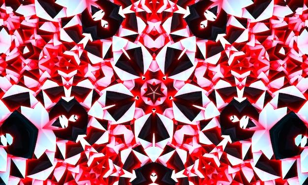 Camuflagem estrela caleidoscópio tecido sem costura textura brilhante design moderno padrão. textura de simetria do caleidoscópio da estrela colorida da decoração. lenço, roupas, vestuário, design de impressão étnica, têxtil.
