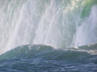 Canadá - niagara falls - primavera, o poder