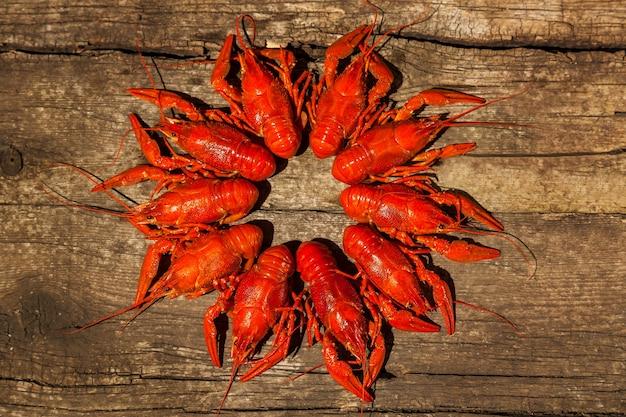 Câncer para cerveja lanches de cerveja de lagosta cozida com endro