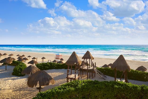 Cancun delfines beach hotel zona do méxico