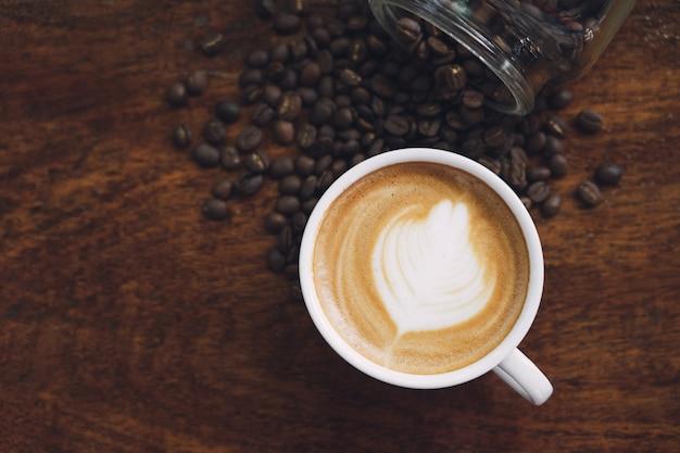 Caneca de café branco