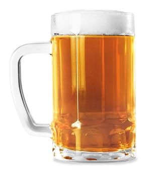 Caneca de cerveja isolada no branco caneca de cerveja isolada no branco