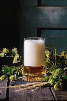 Caneca de cerveja lager
