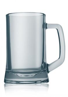 Caneca de cerveja vazia