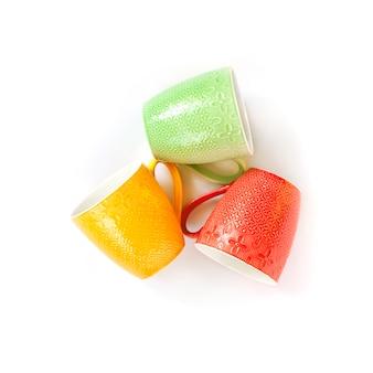Canecas coloridas