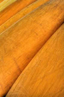 Canoas de madeira de textura hdr