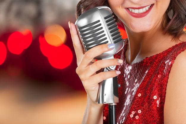 Cantora jovem