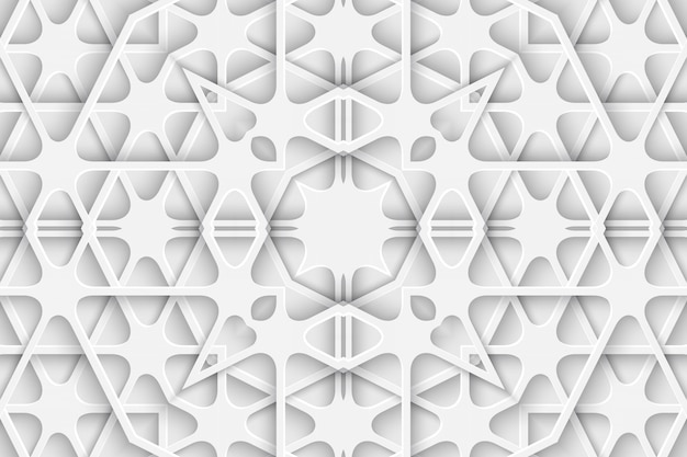 Capa do livro do fundo do corte do papel esculpido branco. camada de linhas curvas e ondas. ilustração 3d render modelo modelo padrão