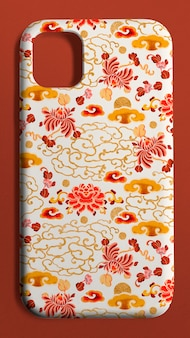 Capa para celular com padrão chinês retrovisor do produto