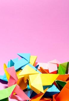 Capa para livro de origami