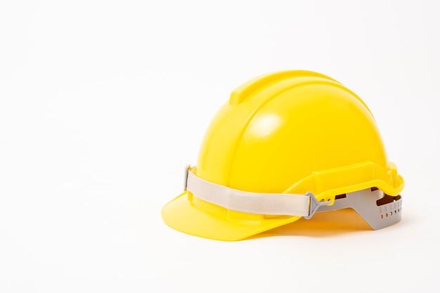 Capacete de segurança amarelo
