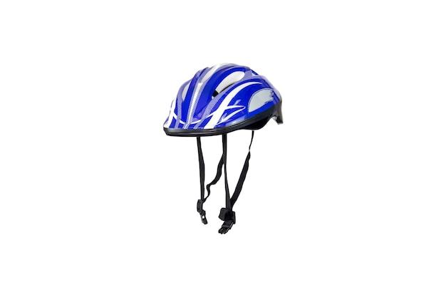 Capacete de segurança para ciclismo, skate e patins inline isolados.