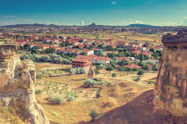 Capadócia antiga cidade na turquia