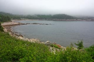 Cape breton névoa hdr scotia