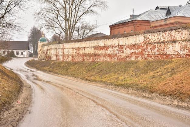 Capela de deposição do convento, paredes de deposição do convento