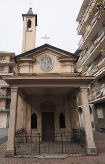 Capela de madonna delle grazie (nossa senhora das graças) em settimo tori