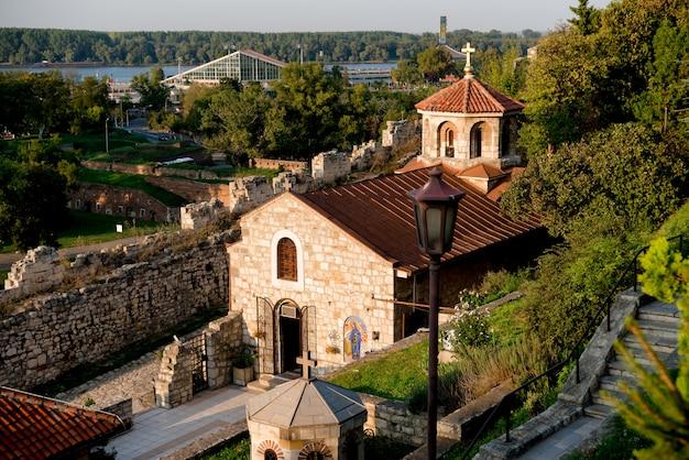 Capela de são petka na fortaleza de belgrado. belgrado, sérvia