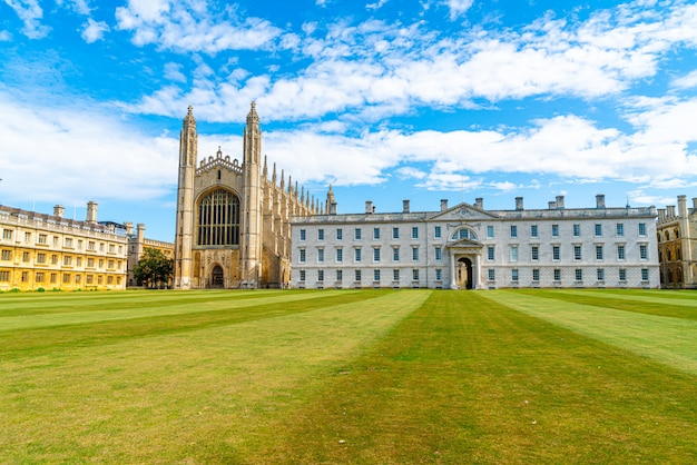Capela do king's college em cambridge