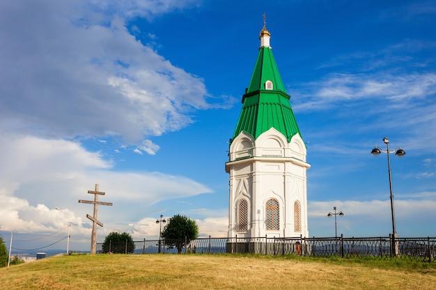 Capela paraskeva pyatnitsa, krasnoyarsk