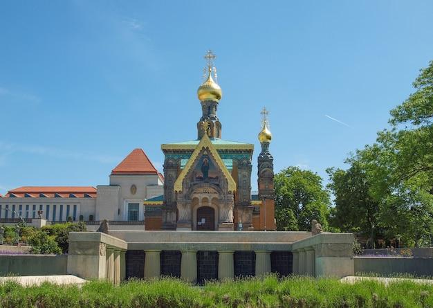 Capela russa em darmstadt