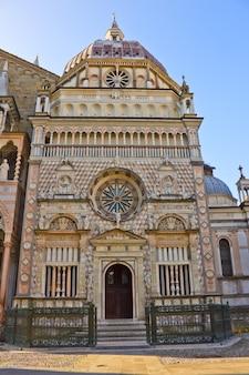 Capella colleoni, basílica santa mria maggiore bergamo, itália