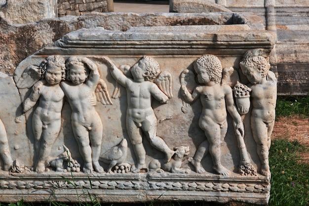 Capital romana antiga da dalmácia, split, croácia