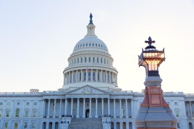 Capitol, predios, cc washington, luz solar, dia, eua