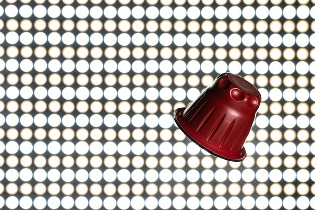 Cápsula de café expresso vermelho, cápsulas de café