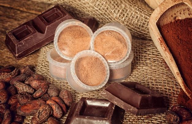 Cápsulas de chocolate