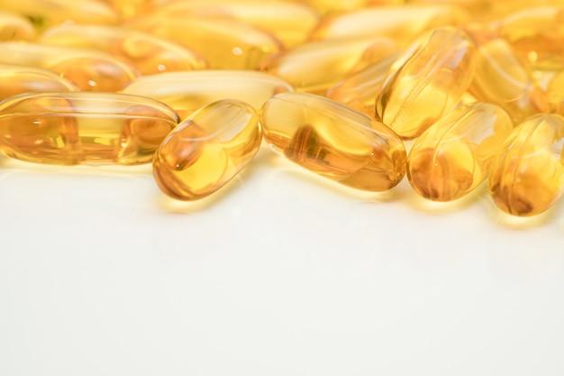 Cápsulas de concentrado de óleo de peixe ômega-3