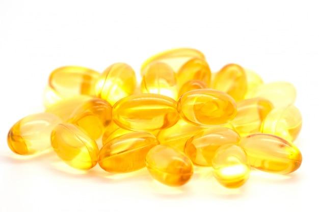 Cápsulas de óleo de peixe