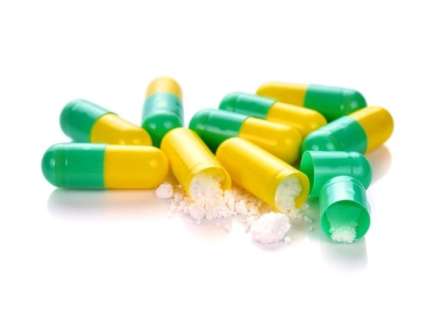 Cápsulas pílulas