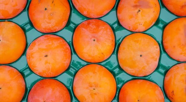 Caquis frutas