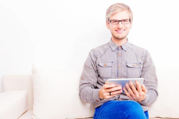 Cara freelancer no trabalho