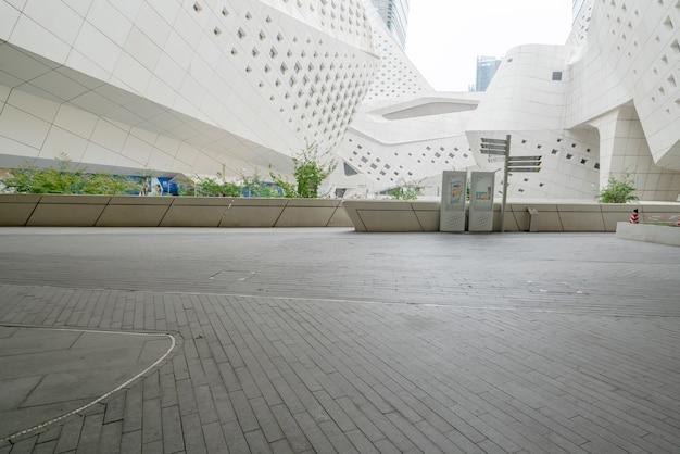 Características arquitetônicas do centro internacional de cultura juvenil de nanjing