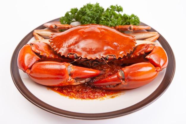 Caranguejo-chili de singapura