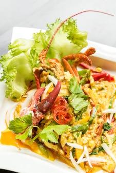 Caril de lagosta