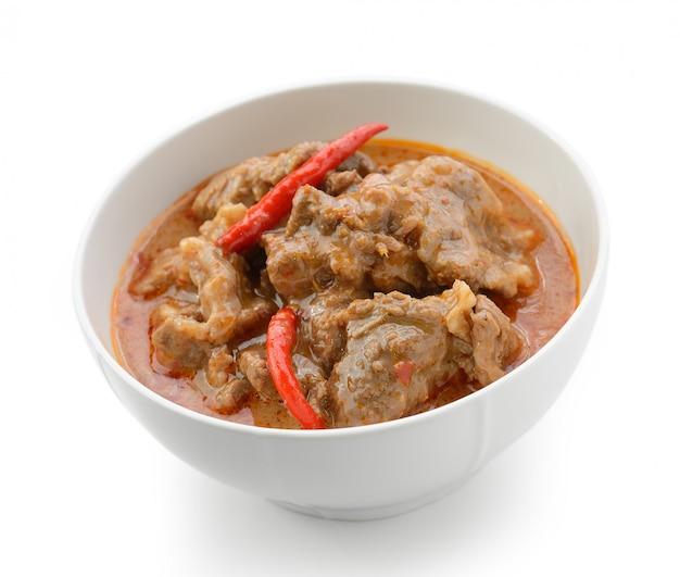 Caril panaeng é um tipo de curry tailandês