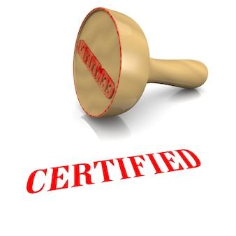 Carimbo certificado