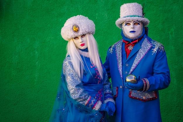 Carnaval de veneza itália