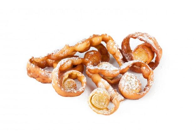 Carnaval italiano da sobremesa típica,